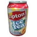 LİPTON - LİPTON ICE TEA LİGHT ŞEFTALİ 330 ML 24 LÜ KOLİ