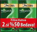 JACOBS - JACOBS MONARCH FİLTRE KAHVE 2 Lİ PAKET