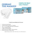 MARMARİS - TOZ MASKESİ 50 Lİ PAKET