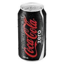 COCACOLA - ZERO COLA 330 ML ADET